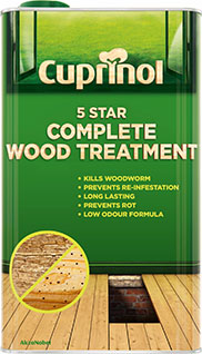 Cuprinol 5 Star Complete Wood Treatment (FP)