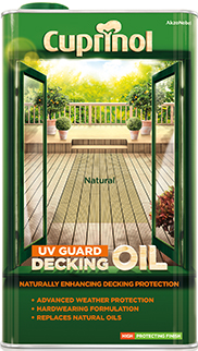 Cuprinol Decking Oil & Protector (WB)