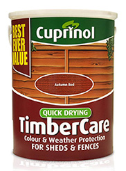 Cuprinol Quick Drying Timbercare